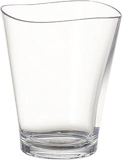 プラキラ(Plakira) ゆらぎ タンブラー グラス コップ クリア 透明 240ml 食洗機対応 キャンプ向け 耐熱100度 割れにくい グランピング トライタン素材 日本製