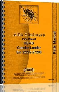Allis Chalmers HD3 Crawler Parts Manual