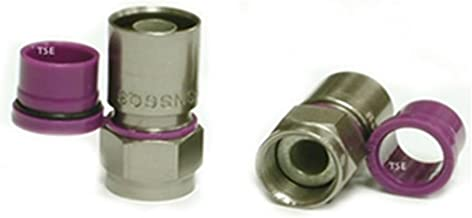 Thomas & Betts Sns6Qs Snap-N-Seal Rg6 Rg-6 Quad Compression Connector (50 Pack)