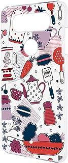 スマホケース ハードケース LG V20 PRO L-01J 用 [キッチン・白ピンク系] 北欧柄 クッキング エルジー ブイトゥエンティ プロ docomo スマホカバー 携帯ケース 携帯カバー kitchen_00r_h131@03
