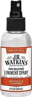 J.R. Watkins Liniment Spray, Pain Relieving, Original, 4 fl oz, Single