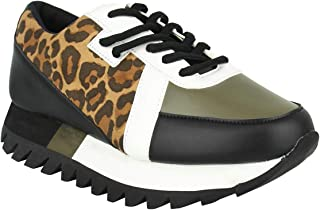 Not Rated Geri Women's Oxford 7 B(M) US Leopard
