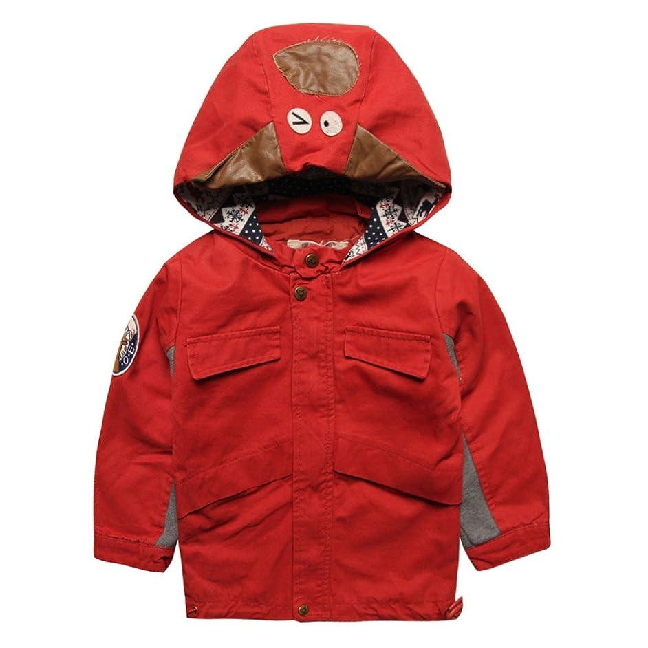 eTree Little Boys' Girls' Jacket Cotton Lined Zipper Hoodie Coats Outerwear