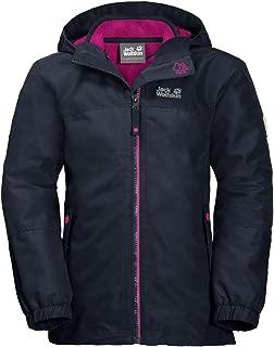 Jack Wolfskin Girl's G Iceland 3-in-1 Waterproof Insulated System-Zip Jacket
