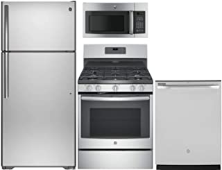 GE 4-Piece Kitchen Package with GTS16GSHSS 28