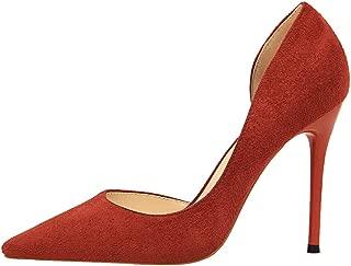 Teng Fei Home Lighting Womens Shoes Black Stiletto Heel Banquet high Heels