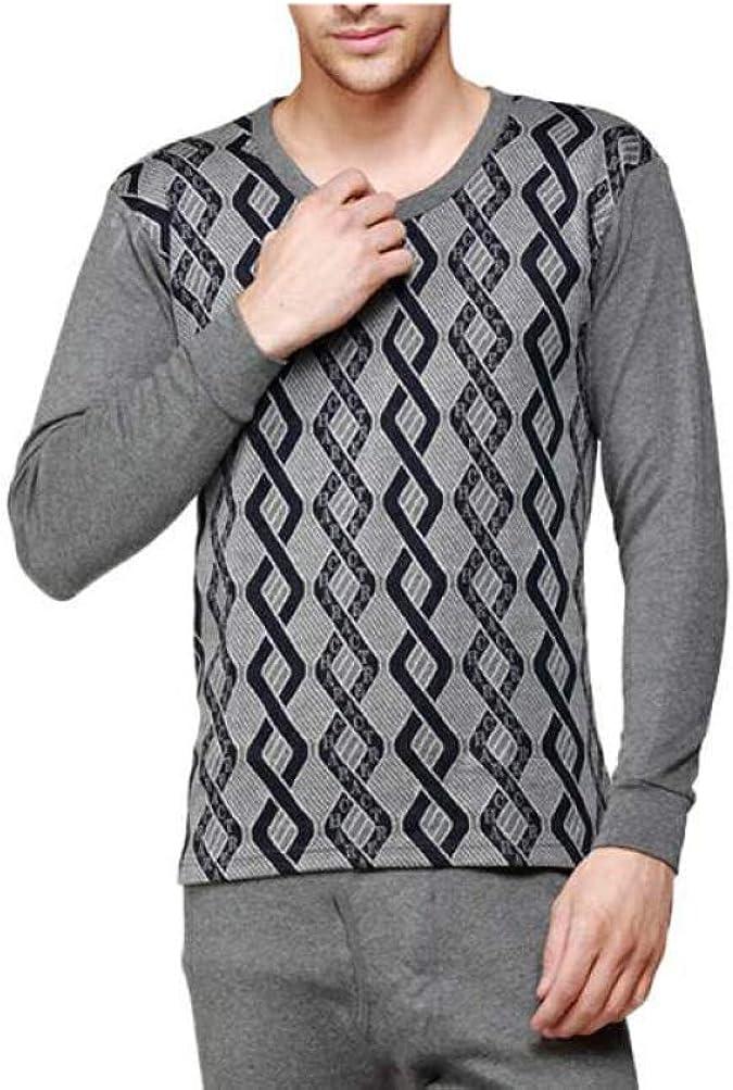 Mens Thermal Underwear Ultra Soft Long John Set Winter Warm Base Layer Top and Bottom