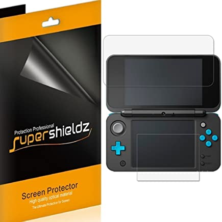 [3-Pack] Supershieldz for Nintendo 2DS XL Screen Protector, Anti-Bubble High Definition Clear Shield + Lifetime Replacement - Retail Packaging