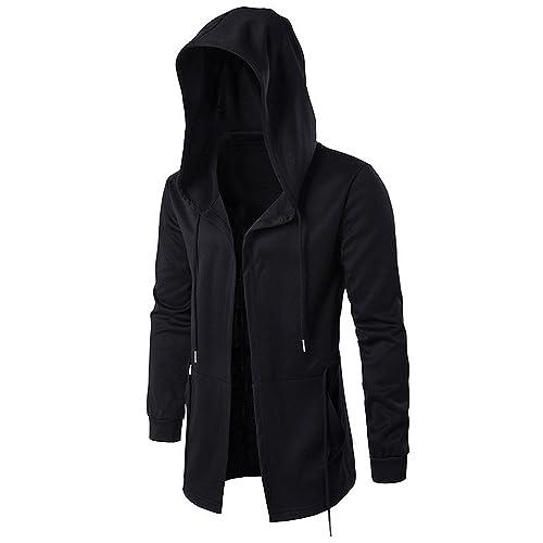 83d45dd29 Richard Nguyen New Hoodies Men Black Cardigan Hoodie Men Hooded Mantle Assassin  Creed Clothing M-