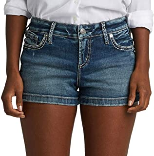 Women's Elyse Relaxed Fit Mid Rise Short