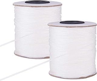 2mm Weiß Nylon Kordel Geflochten Für Gartenbau Pflanze Und Craft Alu Blind Shade