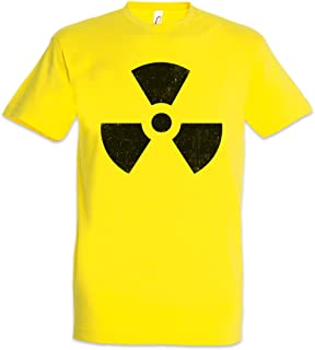 58303710 Radioactive Vintage Symbol T-Shirt - Big radioactif Radiation Bang  Strahlung Logo nucléaire Theory Caution