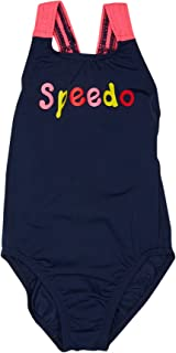 Speedo Girls Girls Logo Medalist One Piece - Kids Stretch
