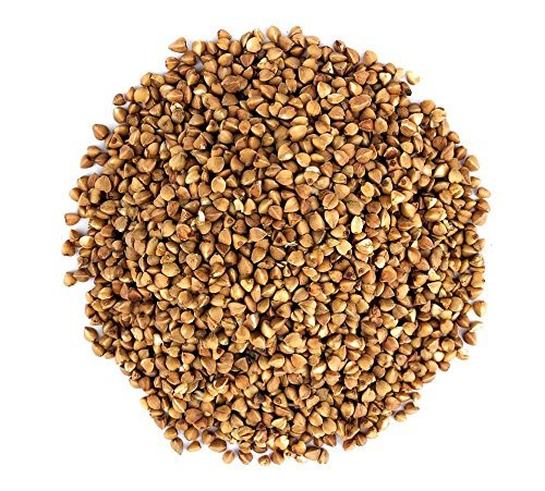 Amazon Com Organic Buckwheat Kasha 25 Pounds Grechka Toasted Whole Groats Non Gmo Kosher Bulk Grocery Gourmet Food