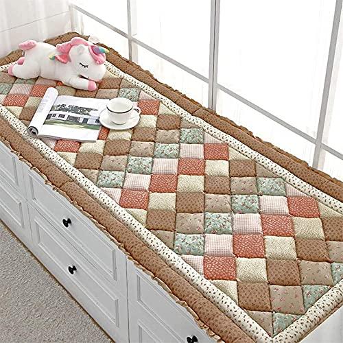 Cojín de suelo super cómodo - Almohadilla de cojín de tatami de tatami de la ventana esponjosa, espesos del asiento de la ventana de la ventana Almohadillas de almohadillas, estera de piso sin desliza