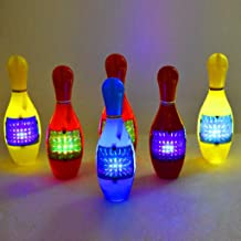 $25 Get Chenway Bowling Toys for Kids The Collision Target Will Emit Light and Make a Sound Children's Bowling Game