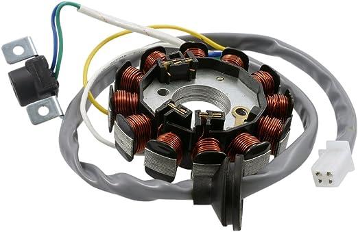 2extreme Lichtmaschine 12 Polig Kompatibel Für Yamaha Aerox 50 Cat Typ Sa14 03 Auto