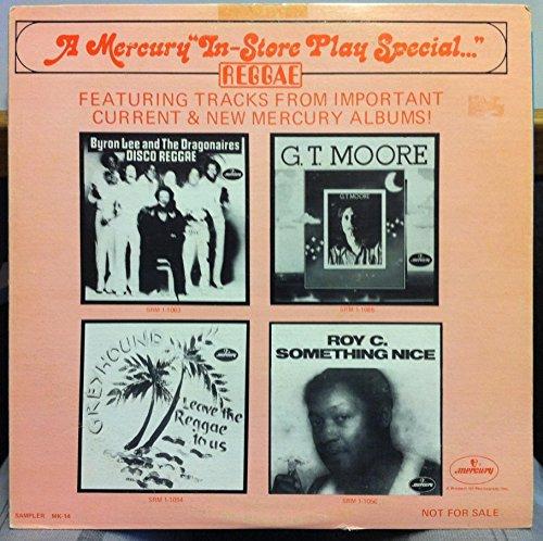 BYRON LEE / GREYHOUND / ROY C / G.T. MOORE MERCURY RAGGAE COMP vinyl record
