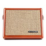 Irfora AC-15 15W Portable Acoustic Guitar Amplifier Amp BT Speaker with Microphone Input