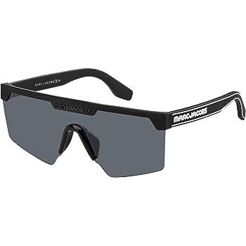 54 mm Marc Jacobs Mens Marc185s  Rectangular Sunglasses Black