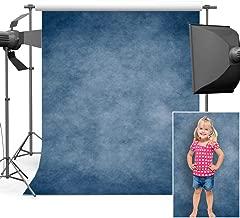 Mehofoto Grunge Blue Photography Backdrop Vintage Blue Background 5x7 Professional Portrait Personal Photo Backdrop Photo Studio Props