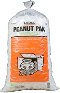 U-Haul Biodegradable Packing Peanuts for Moving, Packing, Storing, and Shipping - 1.5 cu ft Per Bag