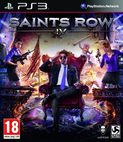Saints Row 4 PS-3 UK deutscher UT