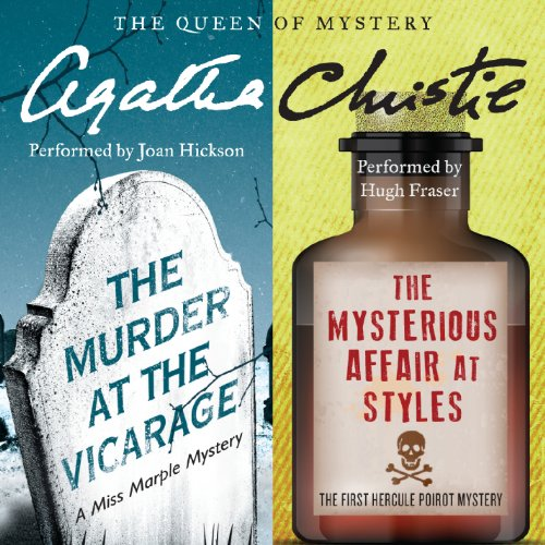 'Murder at the Vicarage' & 'The Mysterious Affair at Styles' cover art