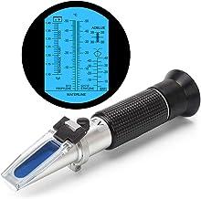 رفسنجومتر خنک کننده ضد یخ 4F در 1 DEF برای سیستم ضد یخ خودرو ، سیال اگزوز دیزل ، اسید باتری و مایعات واشر شیشه ای