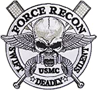 ベルクロワッベン アメリカ海兵隊武装偵察部隊 Force Recon フォース・リーコン パッチ