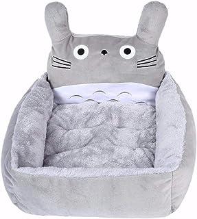 SKEIDO Soft Pet Dog Cat Bed House Soft fleece Washable bed sofa Large size 48x42 cm - Grey color