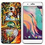 Easbuy Handy Hülle Soft TPU Silikon Hülle Etui Tasche für HTC One X10 Smartphone Bumper Cover Handytasche Handyhülle Schutzhülle
