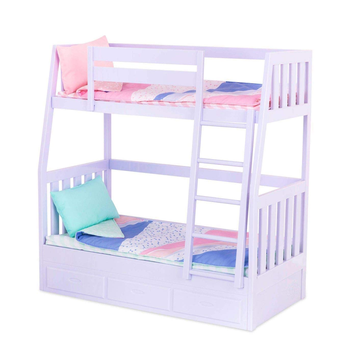 Our Generation 70 37882z Bunk Bed Toy Home Accessories Set Lilac For A 18 Inch 46 Cm Doll Buy Online At Best Price In Uae Amazon Ae