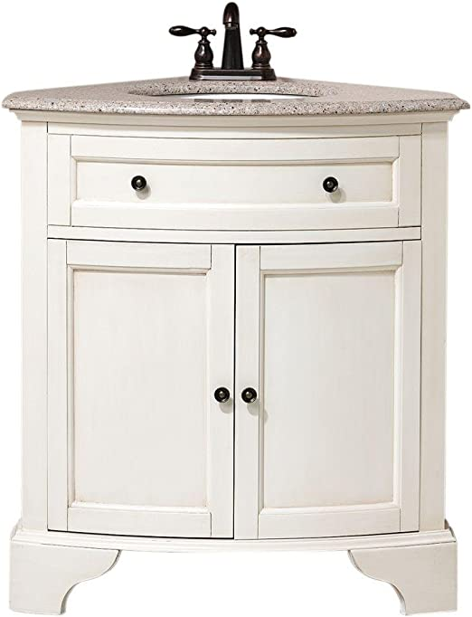 Home Decorators Collection Hamilton Corner Bath Vanity 35 Hx31 Wx23 D Ivory Home Improvement