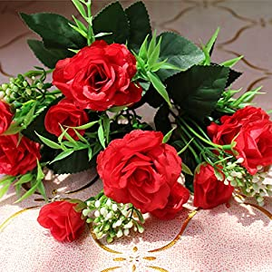 Artificial Flowers Yiting European decorative fake flowers