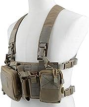Huenco Tactical Assault Chest Rig 500D Molle Multicam Chaleco táctico con múltiples Bolsillos