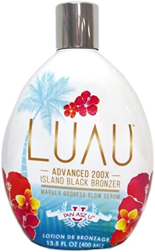 Tan Asz U Luau Island Black Bronzer, 13.5 Ounce tanning bed lotion