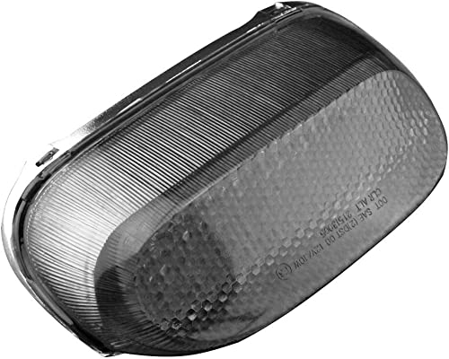 wholesale Mallofusa Motorcycle Integrated Taillight LED Brake Tail Light Compatible for ZZR250 ZZR600 2004 ZX600E outlet sale 1994-2004 ZX11 2021 1993-2001 Smoke Lens sale