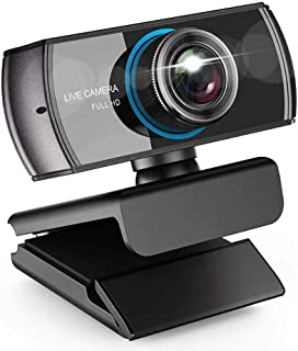 YSY-CY Desktop HD Webcam,1080P HD Computer Camera,Face Cam with Dual Microphone for PC, Laptops and Desktop,Built-in Mic, ...