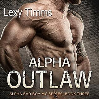 Alpha Outlaw audiobook cover art