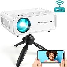 VIVIMAGE Explore 2 Mini WiFi Projector, 4500 Lux 1080P...