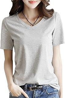 [ニーマンバイ] 3カラー 半袖 Tシャツ きれいめ シンプル カットソー レディース S~2XL