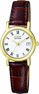 Citizen Women's Eco-Drive Leather Watch