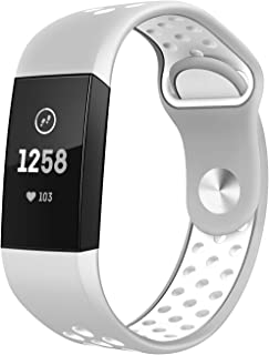 Amazon com: Fitbit Charge 3 bands - TSAAGAN