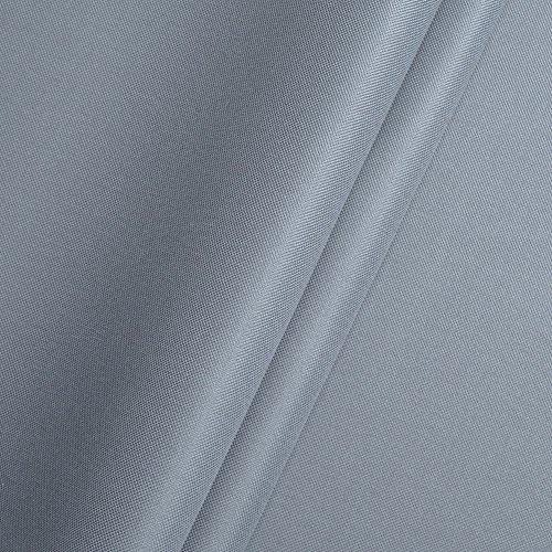 Polyester Oxford 600D 1lfm - Wasserdicht, Outdoor Stoff, Segeltuch, Abdeckplane (Grau)