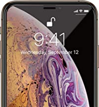SwitchEasy Glass 3D Screen Protectors Full Cover Glass for iPhone Xs/XR Xs Max,Tempered Glass Film for 2018, Hardness Anti-Shatter Protectors (Black, for iPhone XR)