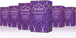 Pukka After Dinner, Organic Herbal Tea with Aniseed & Fennel (6 Pack, 120 Tea bags)
