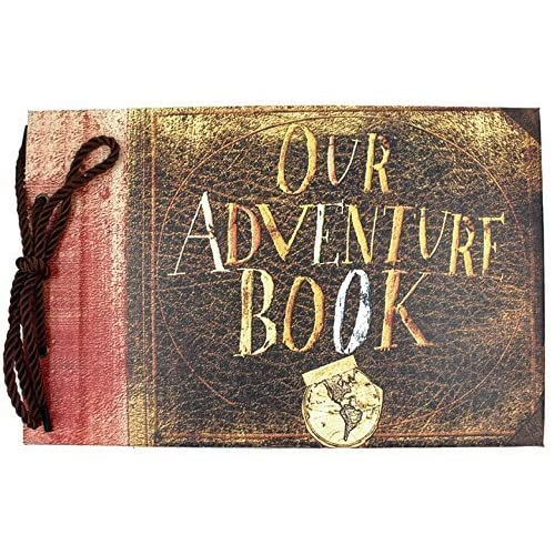 XIDUOBAO Our My Adventure Photo Album Retro Anniversary Scrapbook DIY