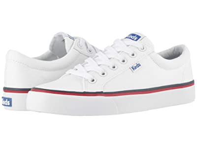 Keds Jump Kick Twill (White Twill) Women