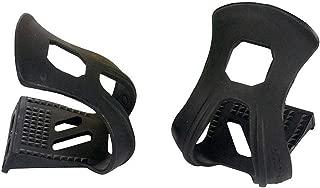 XLC Strapless Mini Toe Clips - Pair, Black